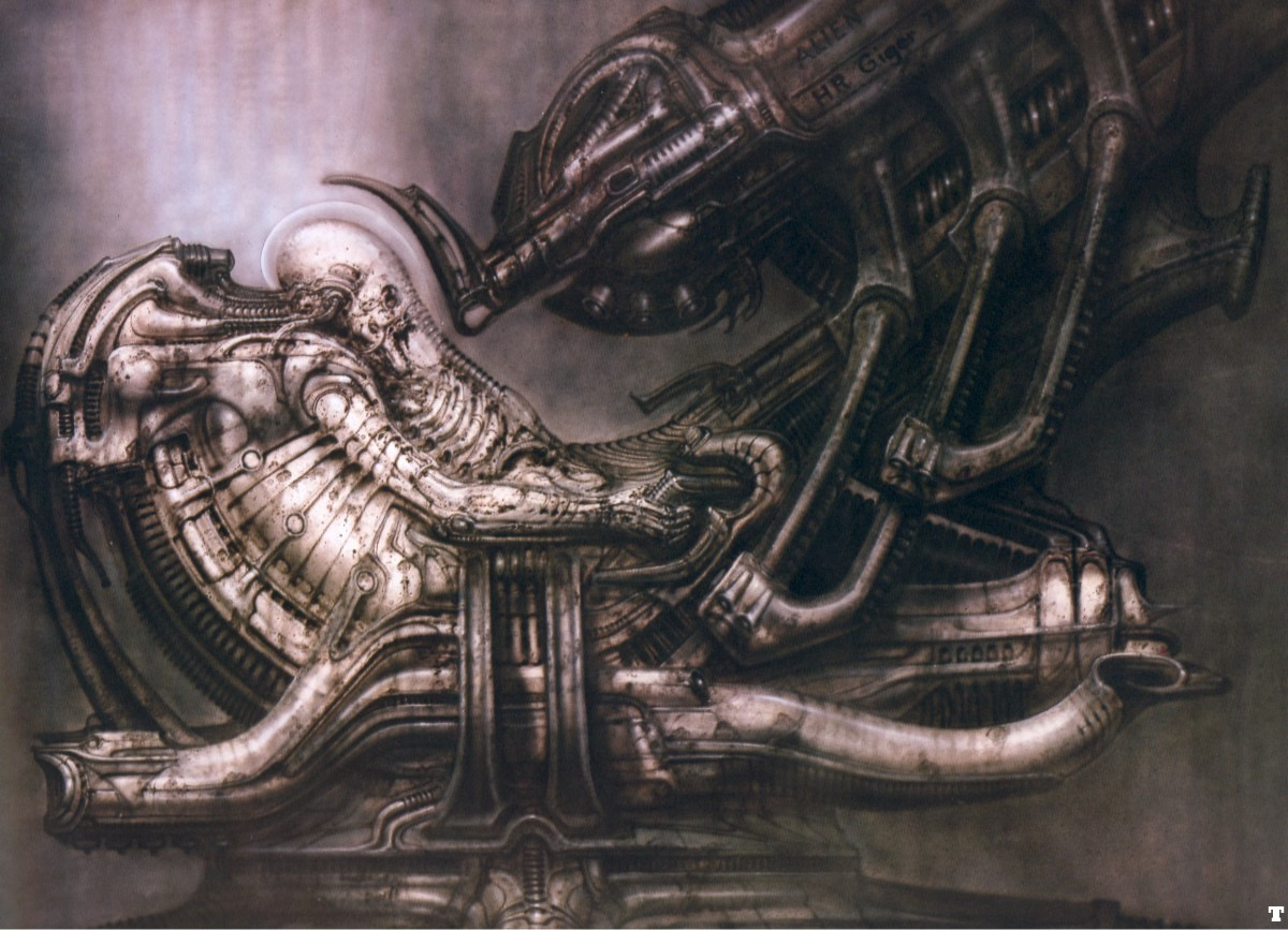 Art Like HR Giger Submited Images